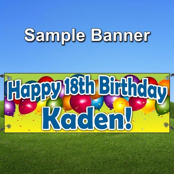 Birthday Sample Banner