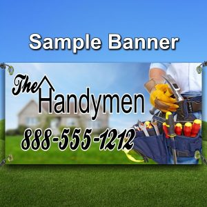 Contractor Sample Banner