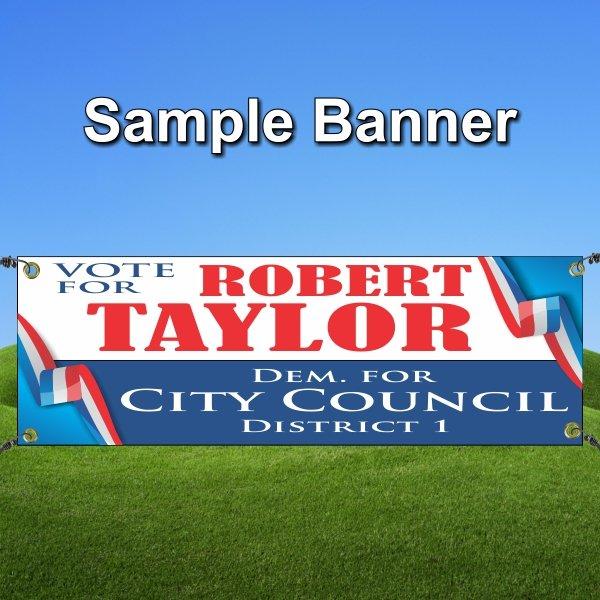 Election Sample Banner