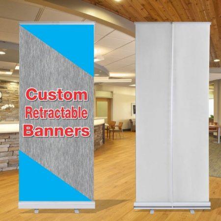 33x79 Retractable Banner