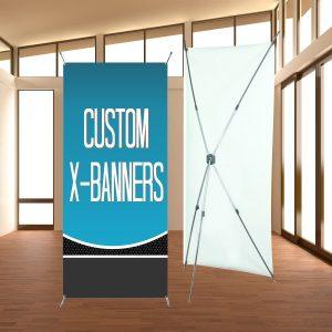 Custom X-Banners Image