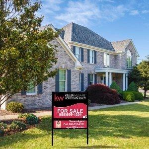Keller Williams Real Estate Signs