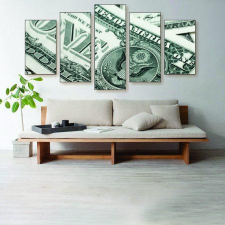 In Money We Trust Canvas Print