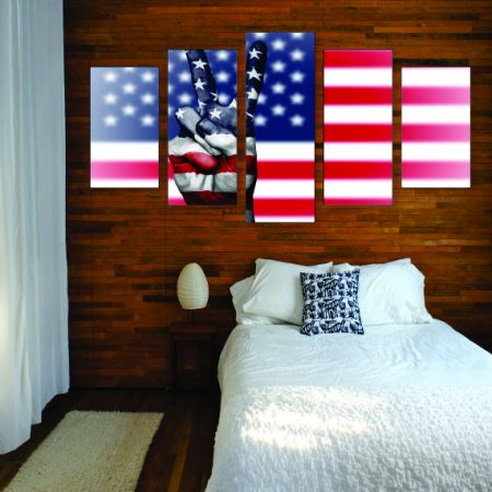 Peace For America Canvas Print
