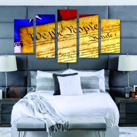 U.S. Constitution Canvas Print