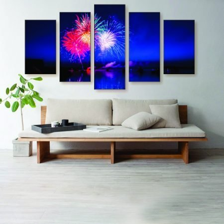 The Red White & Blue Canvas Print