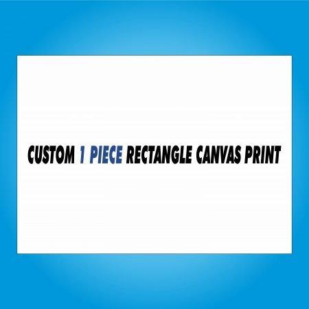 Custom 1 Piece Rectangle Canvas Print