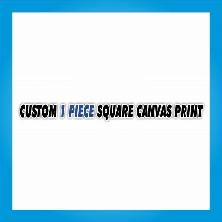 Custom 1 Piece Square Canvas Print