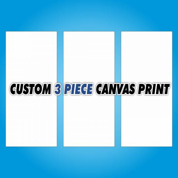 Custom Canvas Print - 3 Piece
