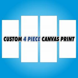 Custom Canvas Print - 4 Piece