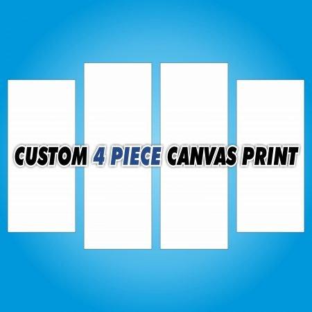 Custom 4 Piece Canvas Print