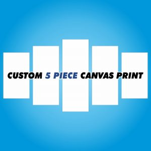 Custom Canvas Print - 5 Piece
