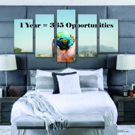 365 Opportunities Canvas Print