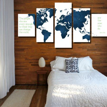 Change The World Canvas Print