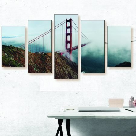Foggy Golden Gate Bridge Canvas Print