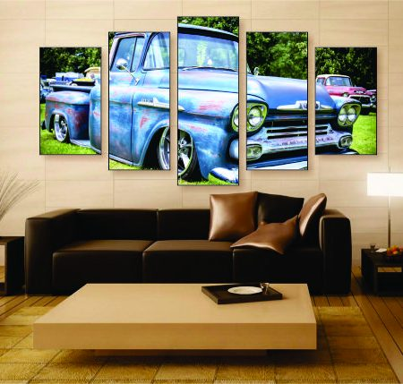 Patina Pickup Canvas Print