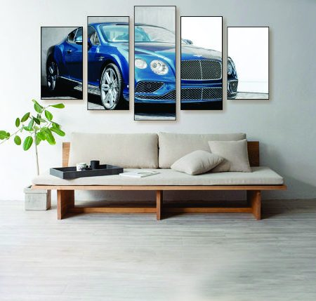 Bentley Coupe Canvas Print