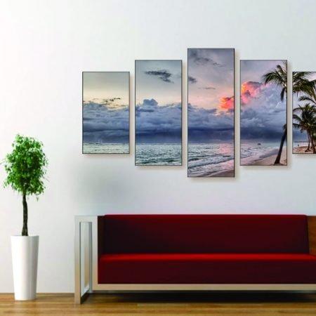 Firey Sky Canvas Print