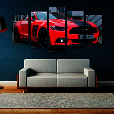 S550 Mustang Canvas Print